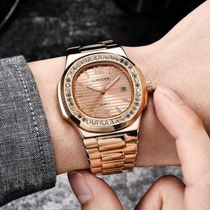 Fashion Casual Men's Watch Nautilus Fully Rhinestone Watches Quartz Luxury Gold Diamond Business Mens Clock Wristwatch relogio