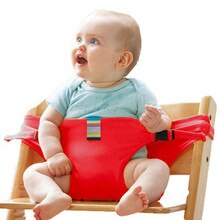 Marke Tragbare Baby Esszimmer Stuhl Kinder Hohe Stühle Sitz Gürtel Sicherheit Gürtel Folding Dining Fütterung Kind Dining Gürtel Tragbaren