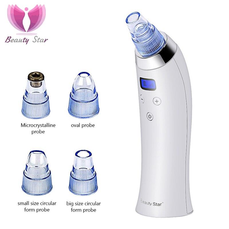 Beauty Star-eliminador de espinillas al vacío, limpiador de poros Facial, máquina de...