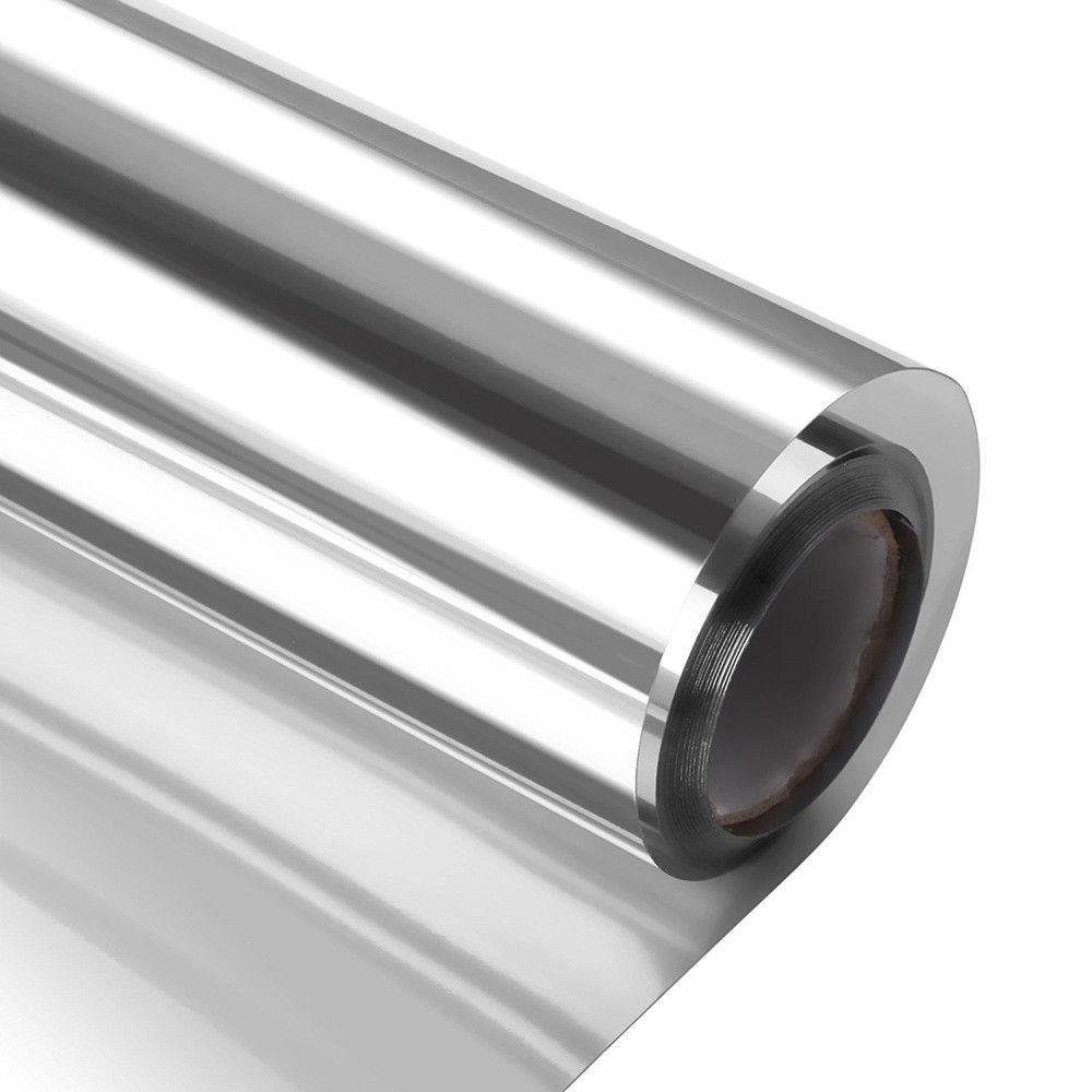 SUNICE Window Film One Way Vision Vinyl Film Self Adheisve Window Glasses Sticker Heat Control Decor Film 45cm x 200cm
