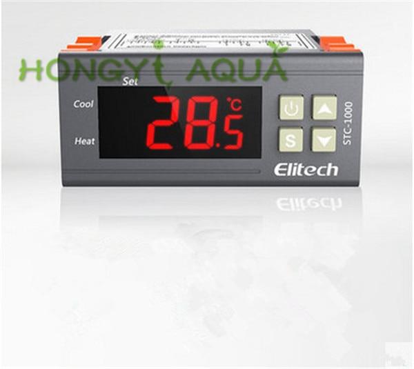 1 шт. пластиковый Термостат светодиодный цифровой контроллер температуры аквариумный инкубационный морепродукты электронные микровесы ...