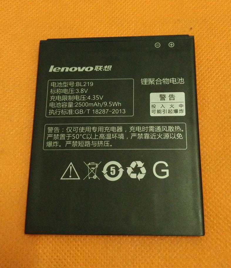 """100% batería original batería pila batería 2500mAh para Lenovo A916 MTK6592 Octa Core 5,5 """"HD 1280x720 4G LTE"""