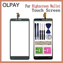 5.5'' Mobile Phone Touchscreen For Highscreen Wallet Touch Screen Glass Digitizer Panel Lens Sensor