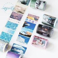 6.5 cm Sky Wave Aardbei Film Washi Tape Plakband DIY Scrapbooking Sticker Label Craft Masking Tape