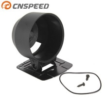 CNSPEED-support de Pod de calibre noir   Jauge de rodage 60mm de calibre, tasse de mètre, tasse de tableau de bord, support de Pod de calibre en plastique