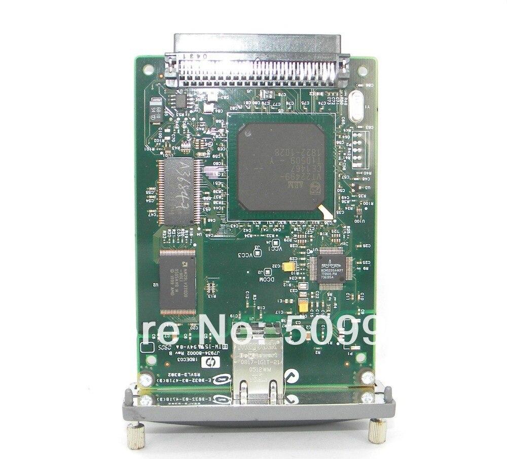 LASERJET 620N J7034A 10/100TX tarjeta de red de impresora ETHERNET para impresora HP, envío gratis de piezas de impresora