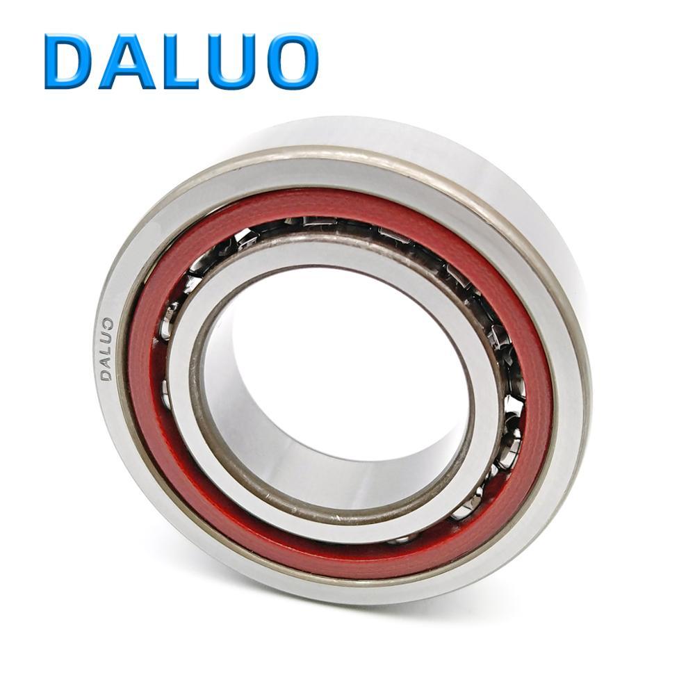 DALUO 7015AC 7015C 7015CTYNSUL P6 P5 P4 GA 7015 75X115X20 الدقة الزاوي الاتصال محامل ABEC-5 ABEC-7 CNC آلة أداة