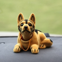 Автомобильные аксессуары, милые Автомобильные украшения, украшения для собак, трясущиеся головы, куклы панели, игрушки, интерьер автомобил...