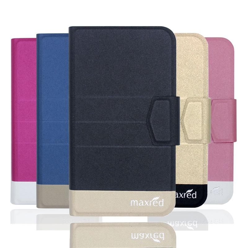 ¡Nuevo Top caliente! Carcasa Bravis A552 Joy Max, 5 colores de fábrica directa de cuero ultrafino de alta calidad accesorios de lujo para teléfono