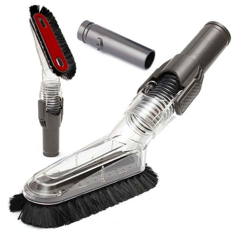 Best Flexible Anti-Static Brush Soft Dusting Brush For Dyson Dc49 Dc59 Dc62 V6 Dc52 Dc56 Dc37 Dc45 Dc48 Allergy Tool Kits