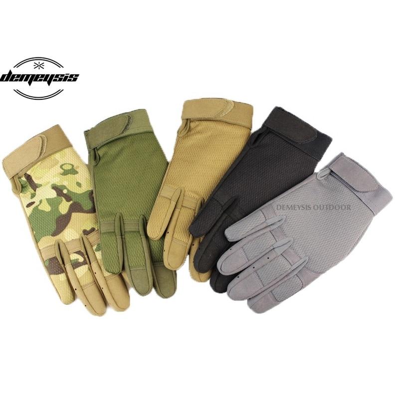 Guantes tácticos para exteriores, guantes tácticos para ciclismo, guantes tácticos para caza, tiro, escalada, deportes tácticos