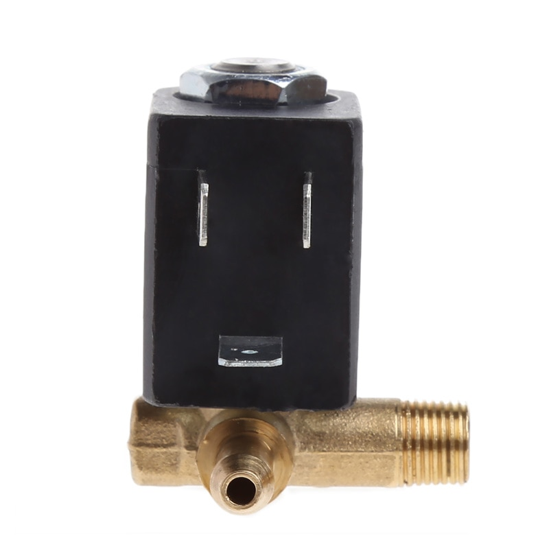 "Cánula N/C AC G1 230V/8 ""de latón de generador de aire válvula solenoide de agua café Mar28"