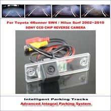 مسارات وقوف السيارات الذكية الكاميرا الخلفية لتويوتا 4 عداء SW4/هايلكس تصفح النسخ الاحتياطي عكس NTSC RCA AUX HD سوني CCD 580 خطوط التلفزيون
