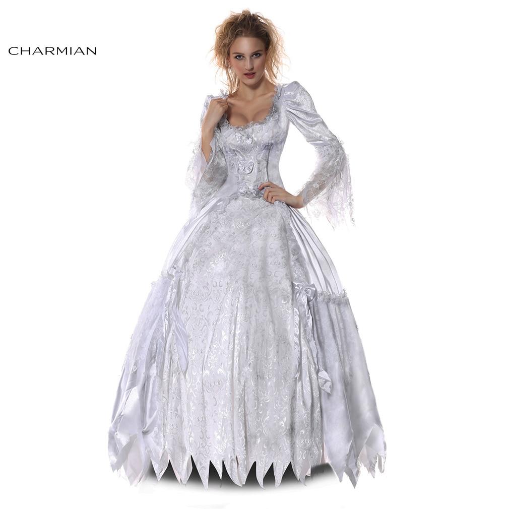 Disfraz de Cosplay Charmian estilo victoriano vampiro cadáver Condesa Halloween Para mujeres fantasías femeninas Para fiesta
