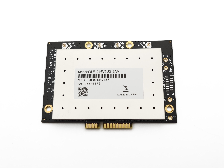 JINYUSHI للعلامة التجارية الجديدة PCIE Compex WLE1216V5-23 بطاقة شبكة لاسلكية QCA9980 4*4 802.11AC 5G موجة 2 وحدة في المخزون