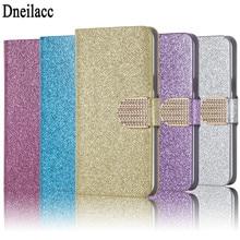 Dneilacc Mode Bling Glitter Flip Housse Pour Oukitel K5000 K 5000 Téléphone Cas Avec Fente Pour Carte Pour Oukitel K5000