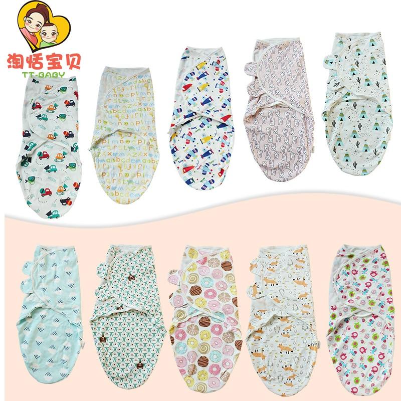 3Pcs Muslin Baby Swaddle Blanket Newborn Toddler Bath Towel Blanket Cap Multi Functions Girl Boy Infant Comfortable Swaddle Wrap