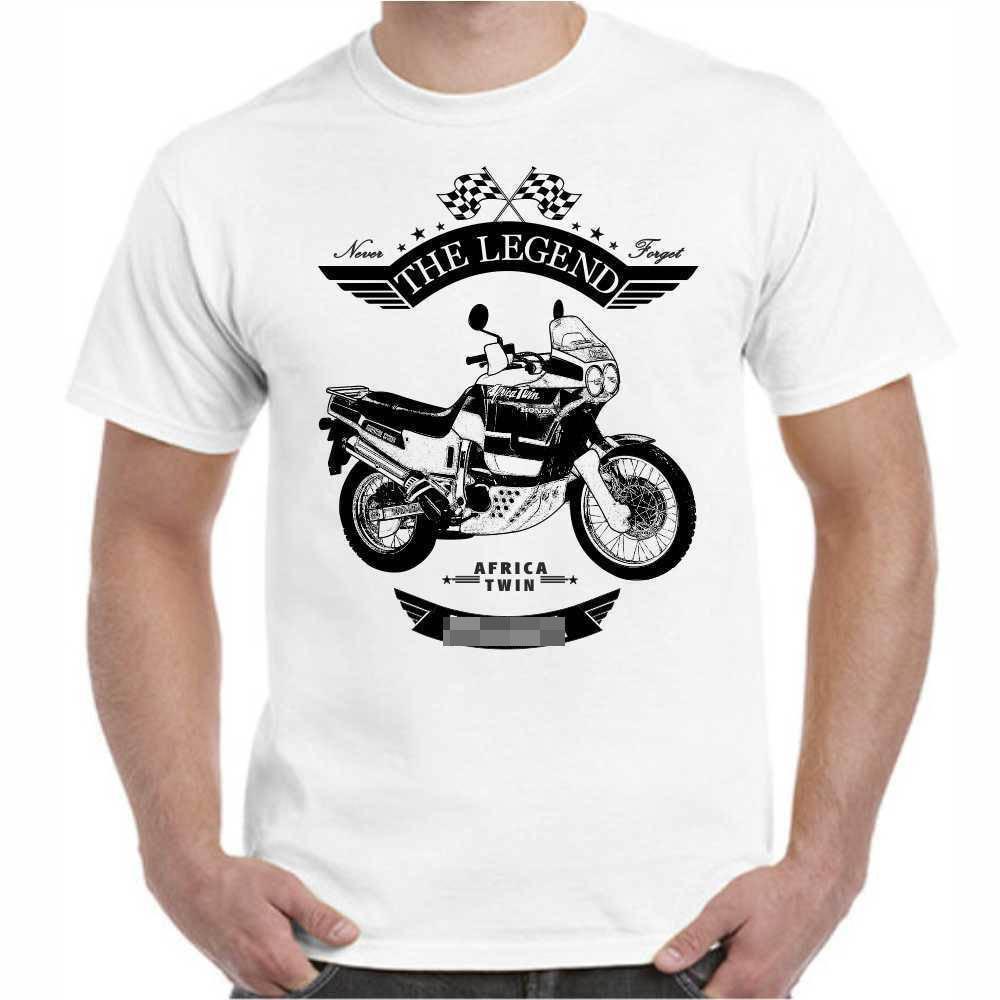 T-Shirt Hon Afrika Twin Oldtimer Youngtimer Klassische Motorrad neue 2019 Fashion Hot Fashion T Shirt Marke Konzert T Shirts