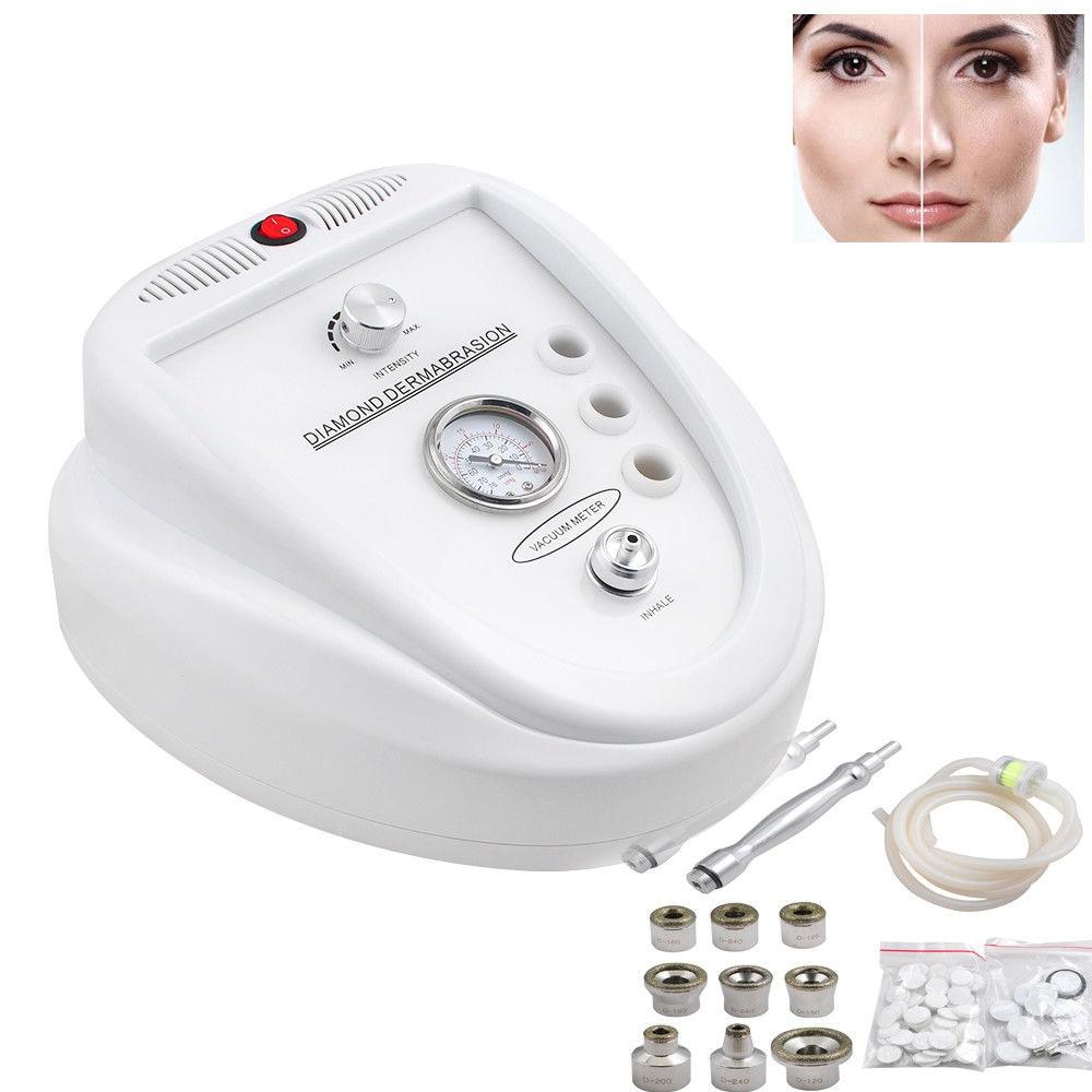 المهنية 3 في 1 اللوازم الطبية الماس جلدي آلة تقشير تحسين التكنولوجيا قشر الوجه سبا صك الجمال