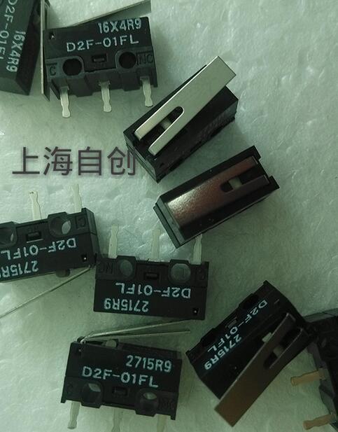 Nuevo interruptor D2F-01FL D2F01FL D2F-01 con mango ratón micro interruptor DIP3 20 unids/lote