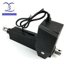 Actuador lineal de alta resistencia 12 V 24 V 150mm 6 pulgadas carrera 8000N 800 KG carga micro eléctrica motor DC de refuerzo de varilla de empuje