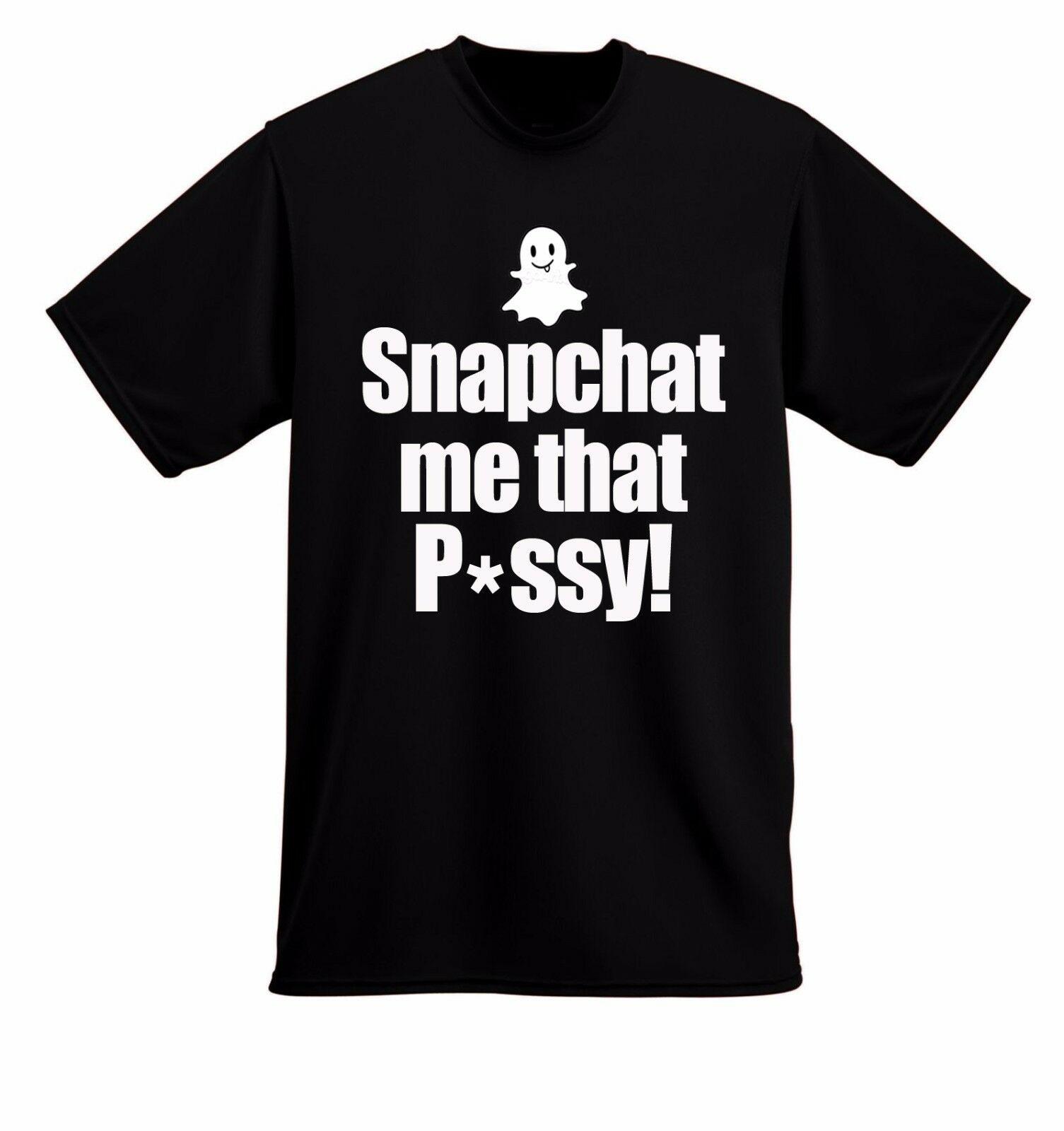 ¡Yo Gotti SNAPCHAT ME P * SSY! IT GOES DOWN IN THE DM camiseta S-6X hombres, mujeres sueltas Negro hombres camisetas Homme