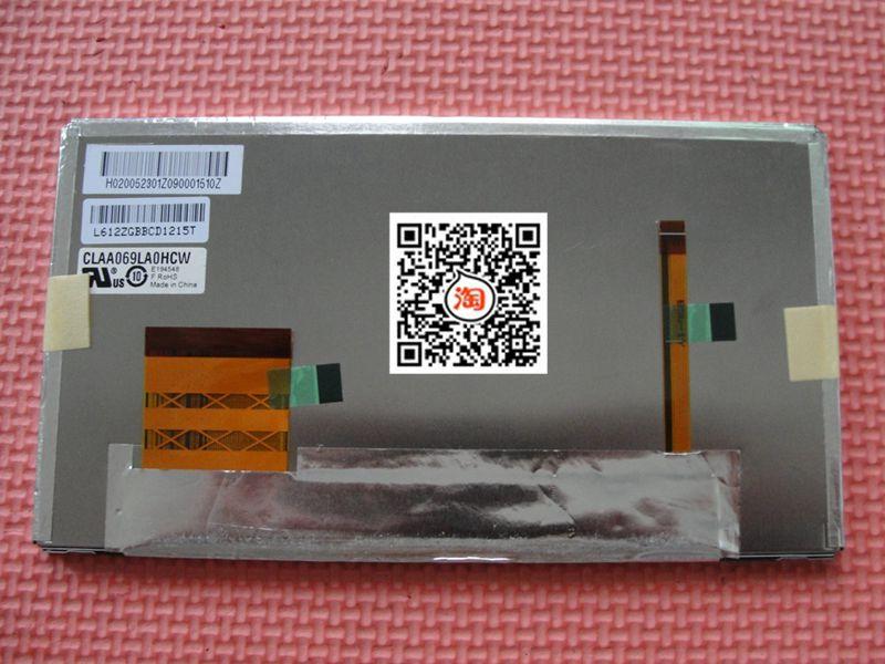 """100%テストオリジナルa + CLAA069LA0HCW 6.9 """"インチ液晶パネル一年保証"""