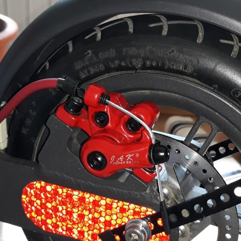 Дисковое тормозное сиденье для XIAOMI MIJIA M365 MI скутер тормозное основание клип диск 110 мм задние колеса фрикционные пластины оригинальные тормозные колодки
