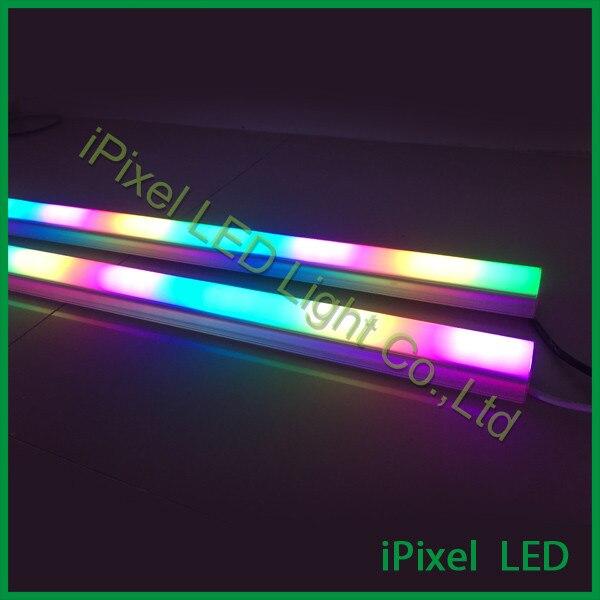 Tubo RGB DMX de alto brillo 10 tubos de luz LED para escenario, hotel, techo o pared