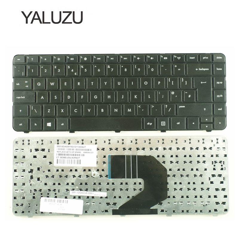 YALUZU новая клавиатура для ноутбука из Великобритании HP Pavilion G4 G43 G4-1000 G6 G6S G6T G6X G6-1000 Q43 CQ43 CQ43-100 CQ57 G57 UK