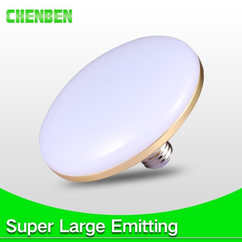 Bombilla Led E27 de alto brillo, lámpara Led de 220V, 15W, 20W, 30W, 50W, 60W, bombilla Led de ampolla UFO, foco para casa, iluminación interior