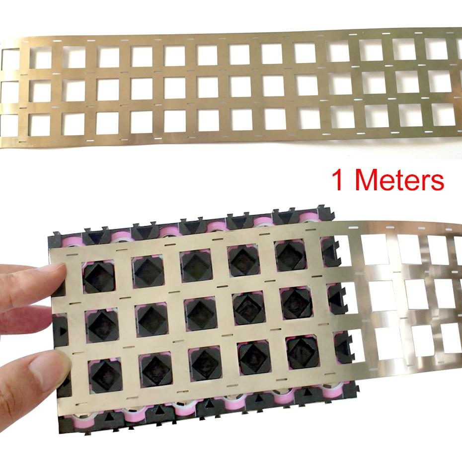1 Meters Pure Nickel Strip 4P 99.96% High Purity Nickel Belt Lithium Nickel Strip Li-ion Battery Ni Plate For 18650 Spot Welding недорого