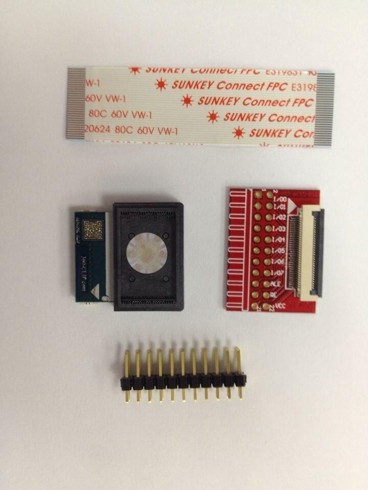 Venta caliente 32pin 360 clip TSOP NAND chip flash para ps3 progskeet original