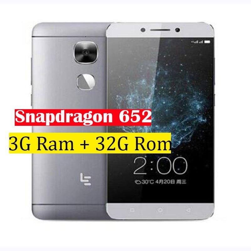 "Original Letv LeEco Le 2 X520 Snapdragon 652 Octa Core Mobile Phone 5.5"" 3G Ram 32G Rom 1920x1080 16MP Fingerprint ID"