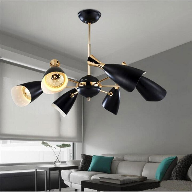 Creative Art Living Room Restaurant Bedroom Office Restaurant Chandelier Clothing store  bookstore cafe lamp lighting