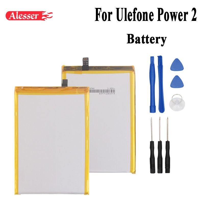 Alesser для Ulefone power 2 аккумулятор 6050 мАч Высококачественный Новый Сменный аксессуар