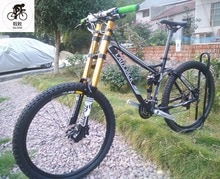 Kalosse M310 DH 26 inç Microshift Yumuşak kuyruk çerçevesi Hidrolik frenler bisiklet dağ bisikleti AM/XC 24 hız