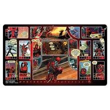 (Tapis de jeu Deadpool) tapis de jeu magique, tapis de Table de jeux de société, tapis de jeu MGT personnalisé avec sac cadeau gratuit