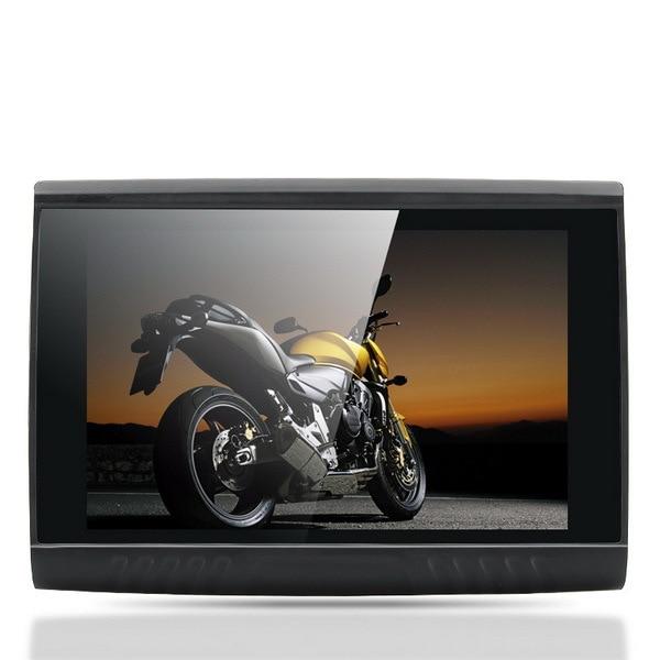 Navegador de motocicleta Android de 5,0 pulgadas, navegador de moto a prueba de agua FM 8 GB, GPS para motocicleta, mapa gratis