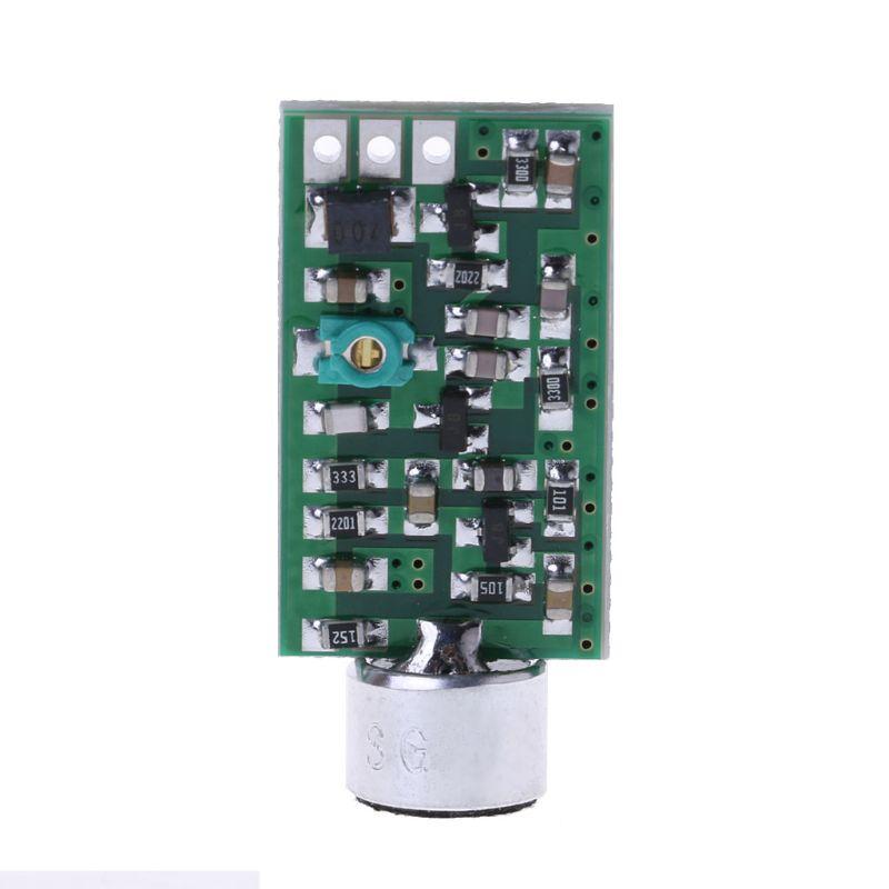 Módulo do transmissor 88 mhz-108 mhz 0.7-9 v mini bug wiretap ditagraph interceptor mic v4.0 placa de núcleo mini transporte da gota
