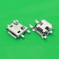 yuxi micro usb jack 7p 7 pins connector port for mobile phone tablet pc