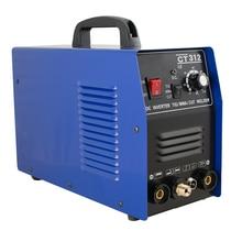 3 en 1 CT312 TIG/MMA Air Plasma Cutter soudeur soudage torche Machine 110V