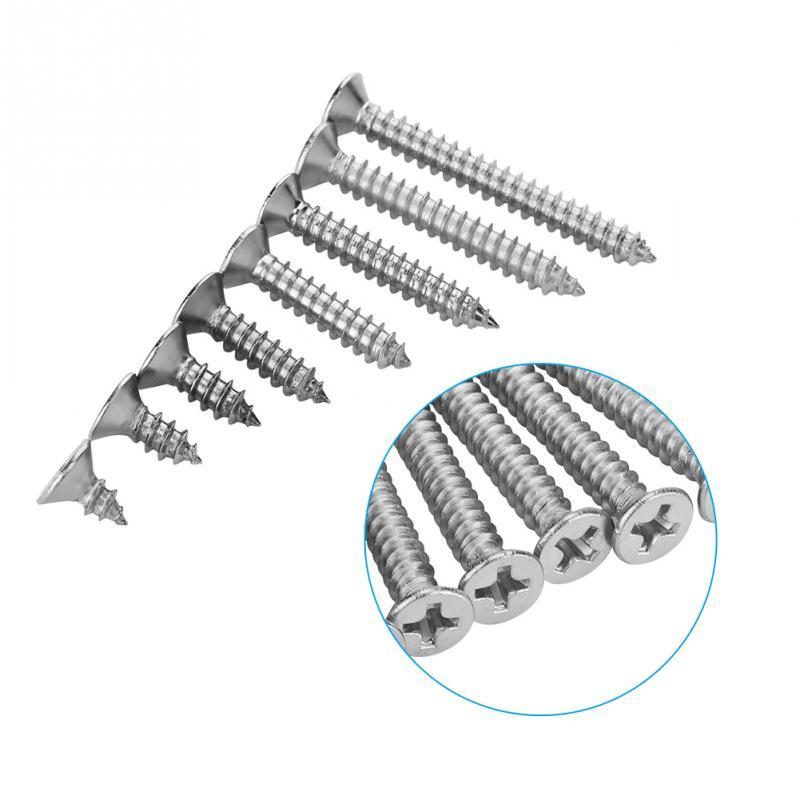 Alta calidad 200 unids/set M4 de tornillo de acero inoxidable tornillos combinación...