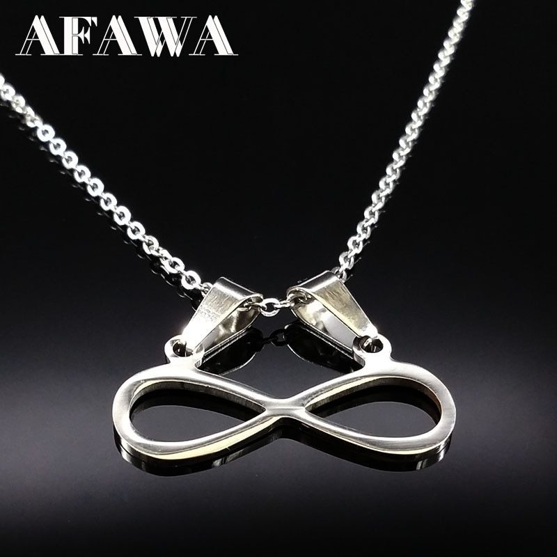Stainless Steel Chain Necklace Choker Women Jewellery Fashion Silver Color Necklaces For Women Best