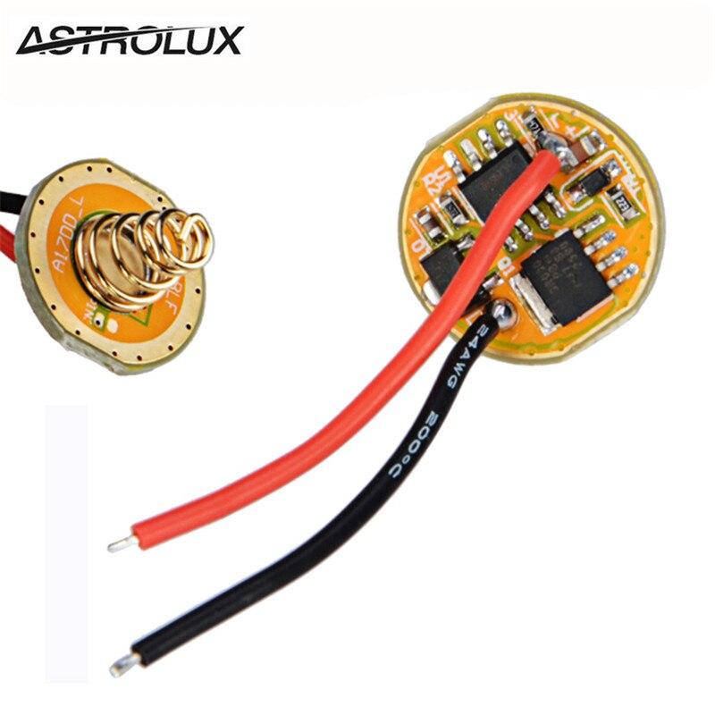 Драйвер фонарика Astrolux BLF X6 X5 S2 S3 SS SC, драйвер фонарика ATTiny25V-based и FET + 7135 2,8-4,35 в