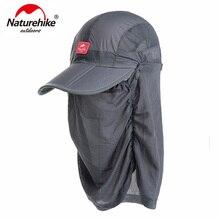 NatureHike Transpirable Verano Gorra Ajustable Anti-mosquito Protección UV  NH12M008-Z