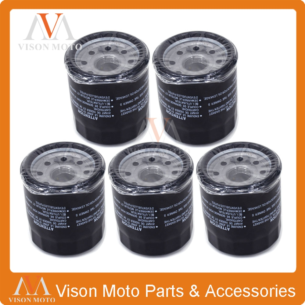 5PCS Oil Filter Cleaner For KAWASAKI KLE500 KLE ZZR 500 ZZR500 ZX600 ZX 600 636 ZX636 EN650 EN 650 ER6F ER-6F  ER6N ER-6N