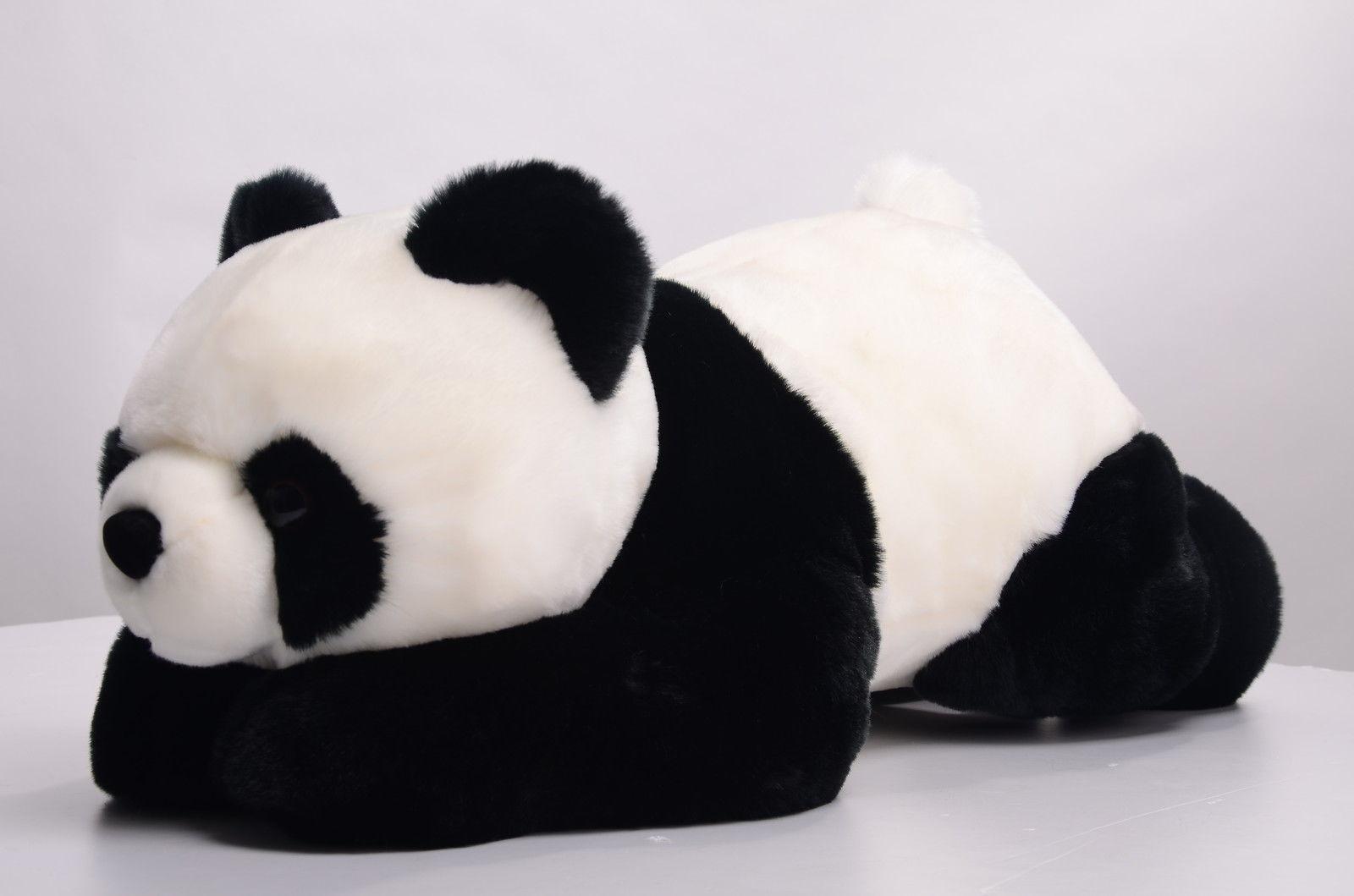 58cm Sprawled Panda Toys Stuffed Animal Plush Cute Branded Animal Soft Kid Doll Gifts