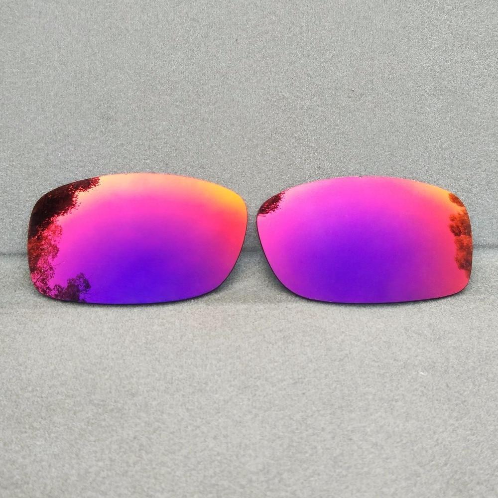 Midnight Sun Mirror Replacement Lenses for Fives Squared Sunglasses Frame 100% UVA & UVB Anti-Reflec