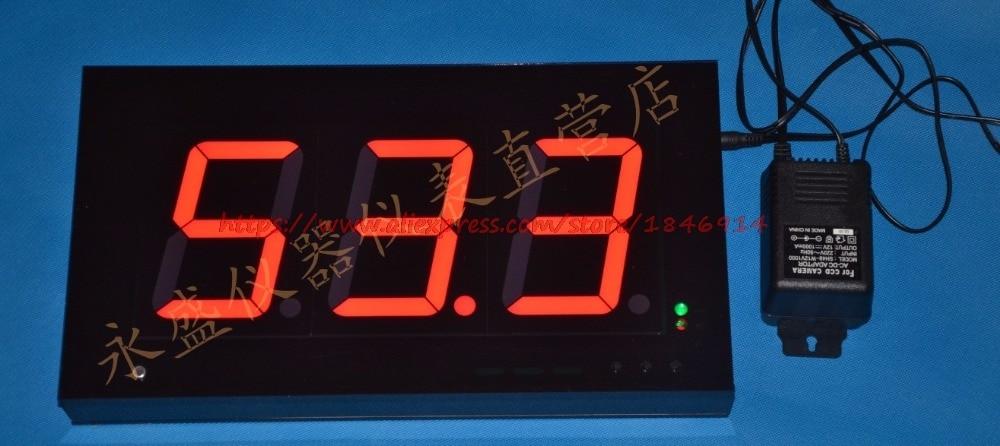 Custom 15.5 inch ultra large digital tube Large screen noise meter Decibel meter Wall type noise tester WS1362